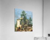 Zouave camp on Brescia city walls in June 1859  Acrylic Print