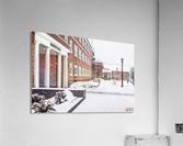 North Hall- Winter  Acrylic Print