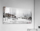 White Chapel-- Winter  Acrylic Print