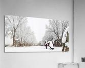 Parade Ground-- Winter  Acrylic Print