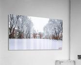 Upper Parade Ground- Winter  Acrylic Print