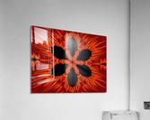 Fire Flowers 106  Acrylic Print