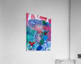 Pearl Seeker  Acrylic Print