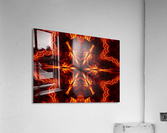 Eternal Flame Flowers 1  Acrylic Print