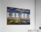 Chaloupe Belle-Anse en ete  Impression acrylique