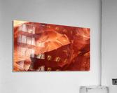 Eroded Wall of Antelope Canyon   Acrylic Print