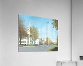 October Sunday - Newtown Scenes 24X30    Acrylic Print