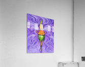 Spinning Pumpkin Man  Acrylic Print