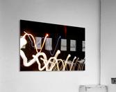 WHITE WORM  Acrylic Print