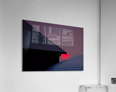 Smokey Sunset and Steel Roofs  Acrylic Print