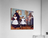 Portait of the Bellelli family by Degas  Acrylic Print