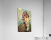 Portrait of a Lady by Degas  Acrylic Print