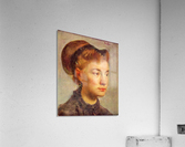 Portrait of a young Lady by Degas  Acrylic Print