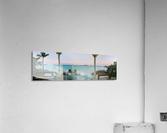 Sunset in Highbourne Cay  Acrylic Print