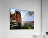 Zion Catching Rays  Acrylic Print