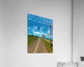 Cycling path  Acrylic Print