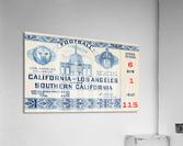 1940 USC vs. UCLA  Acrylic Print