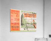 1959 Mississippi vs. Tennessee  Acrylic Print