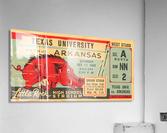 1942 Arkansas vs. Texas  Acrylic Print