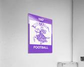 1987 Holy Cross Football  Acrylic Print
