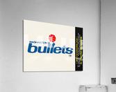 1979 Washington Bullets Fleer Decal   Acrylic Print