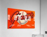 1960s San Francisco Giants Art  Acrylic Print