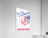 1988 New York Yankees Art  Acrylic Print