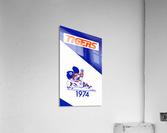 1974 Detroit Tigers Art  Acrylic Print