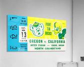 1971 California vs. Oregon  Acrylic Print