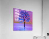 Tree Sunset  Acrylic Print