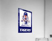 1972 Detroit Tigers Art  Acrylic Print