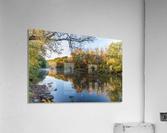 Autumn morning on the Grand River at Mechanicsville Ohio  Acrylic Print