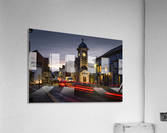 Rhayader town clock tower  Acrylic Print