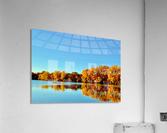 Autumn Canoe  Acrylic Print