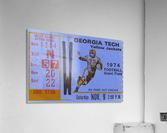 1974 georgia tech remix  Acrylic Print
