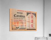 1939 North Carolina vs. Duke  Acrylic Print