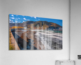 Village Mont-Saint-Pierre  Impression acrylique