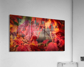 Rouge dautomne  Impression acrylique