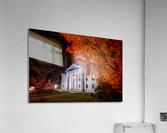 Courthouse Autumn Night  Acrylic Print