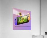 Nintendo Switch Wario  Acrylic Print