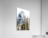 London old and new  Impression acrylique
