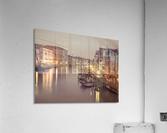 The Grand canal at dusk, Venice, Italy  Acrylic Print