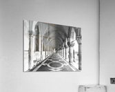 Doge's Palace archway in Venice, Italy  Acrylic Print