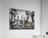 Traffic signal on broadway Times Square,  Manhattan, New York City  Acrylic Print