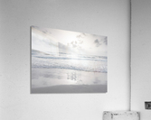 Tranquil beach with cloudscapes  Acrylic Print