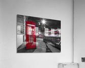Telephone box with Big Ben, London, Uk  Acrylic Print
