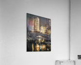 Evening view of Central Park in New York City  Impression acrylique