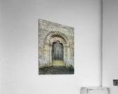 Front door of old cottage in Bibury,  Cotswold, UK  Acrylic Print
