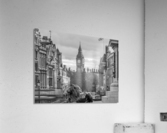 Trafalgar Square with Big Ben in background  Acrylic Print