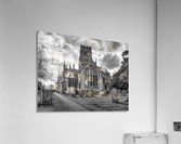 Old church in Northleach town, Cotswolds, UK  Acrylic Print